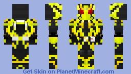 Kamen Rider Zero-One Shining Hopper Minecraft Skin
