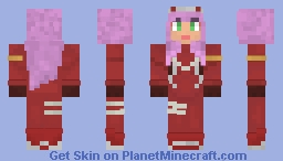 Darling in the Franxx - Zero Two (Requested by Advanced) Minecraft Skin