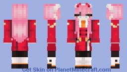 Zero two - (っ◔◡◔)っ ♥ Oreoshakes ♥ Minecraft Skin