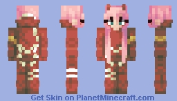 Remake of Zero Two - Darling in the Franxx Minecraft Skin