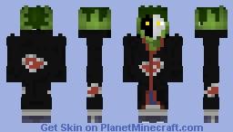 Zetsu: Naruto Shippuden (#0357) Minecraft Skin