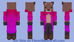 a wizard is never late Minecraft Skin