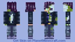 Zomboi - nighty_night skin trade Minecraft Skin