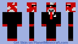 Agent Mushroom cow Minecraft Skin