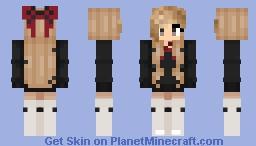 Zoey (request) Minecraft Skin