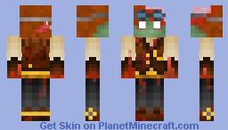 Steampunk Zombie Minecraft Skin