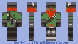 Honeydew the zombie Minecraft Skin
