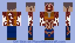 Necromorph - Slasher Minecraft Skin