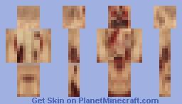 a 64x64 skin in a 8x8 skin Minecraft Skin
