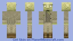 Greatwood zombie Minecraft Skin