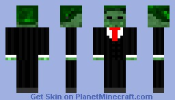 Zombie in suit Minecraft Skin
