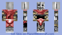 Zombie Knight Minecraft Skin