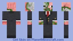 Suited pigman zombie Minecraft Skin