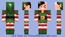 Asty Mission Noël Minecraft Skin