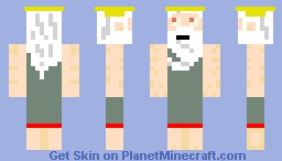 God of Whiteness Minecraft Skin