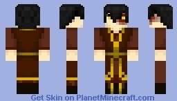 Prince Zuko Minecraft Skin