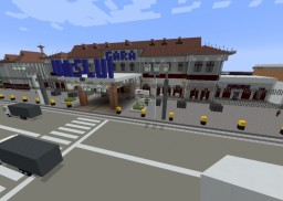 | Vaslui Railway Station | A Realistic Project | ROMANIAN CITY | Minecraft Map & Project