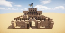Egyptian Build [Small Barracks] Minecraft Map & Project