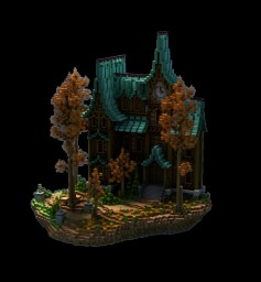 Autumn Residence Minecraft Map & Project