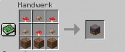 Mycelium recipe Minecraft Data Pack