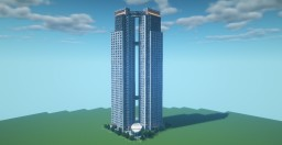 """""""EL FARO"""" TOWERS - Luxury residential apartments Minecraft Map & Project"""