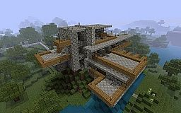 Fallingwater Minecraft Map & Project