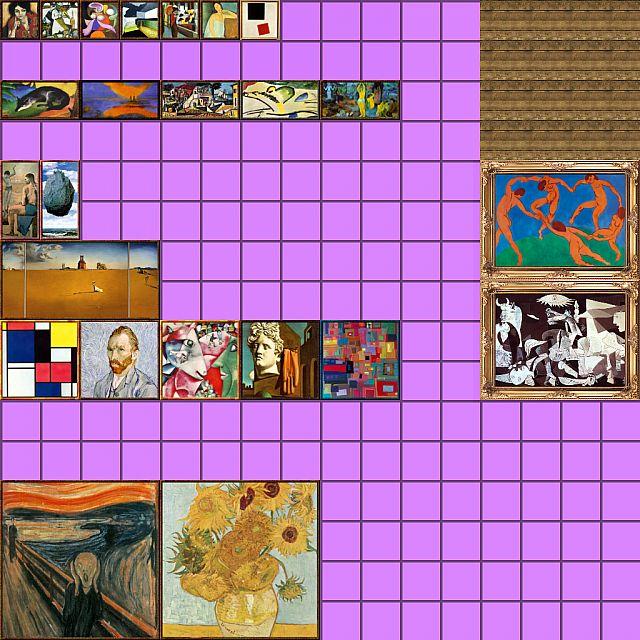 Modern art 64x64