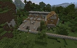 Trainstation Minecraft Map & Project