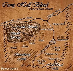 Camp Half Blood Minecraft Map & Project