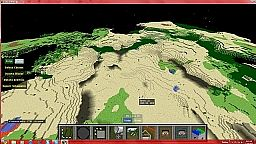 Biome terrain Modified world save Floating Land Masses Minecraft Map & Project