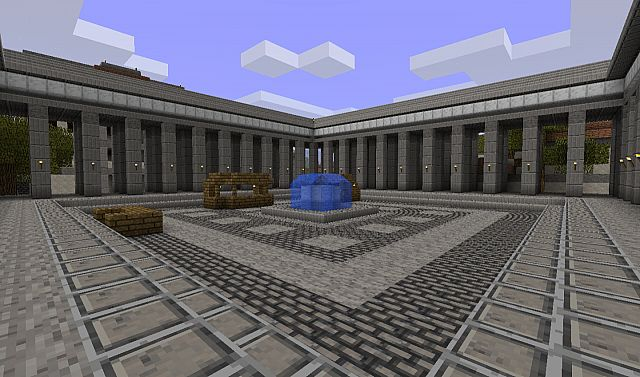 A forum near the Mining District