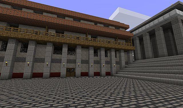 Roman Apartments near the Forum