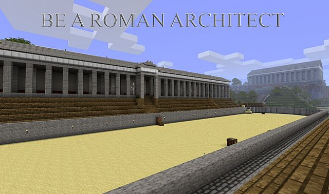 Image taken from my Romecraft mod, Circus Minimus with Temple in the background