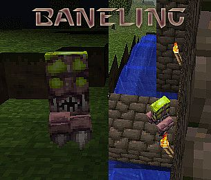 Creeper as Baneling