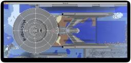 USS Enterprise NCC-1701A (see my other project for download) Minecraft Map & Project