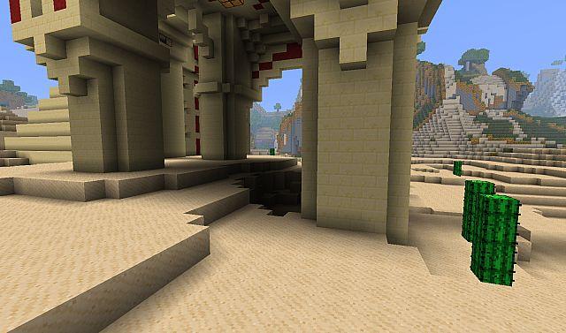 Sandy sand and blocky sand!