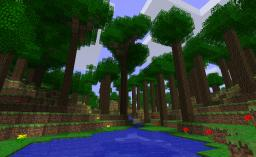 The tall woods Minecraft Map & Project