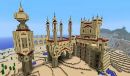 Scorpion Fortress Minecraft Project