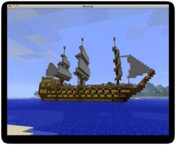 Tall Battleship Minecraft Map & Project