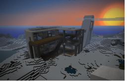Design Architecture Building Minecraft Map & Project