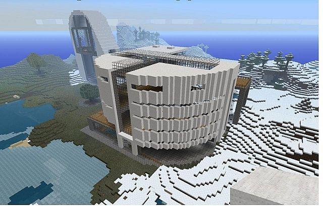 Architect Building Design design architecture building minecraft project