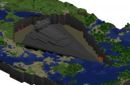 To-Scale Star Destroyer Minecraft Map & Project