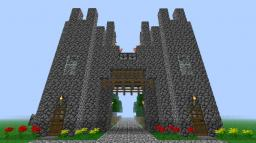 Basic Castle/Town Entrance *WITH ARROW DISPENSERS* Minecraft Map & Project