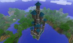 Toadstool Tower Minecraft Map & Project