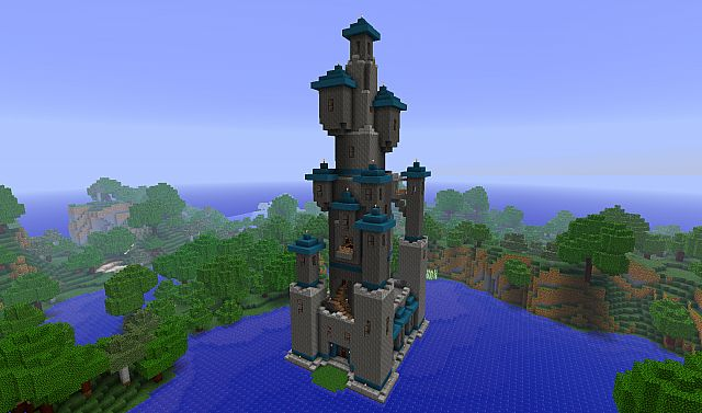 Toadstool Tower Minecraft Project