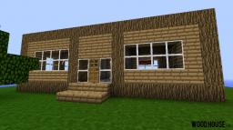 Basic Wooden House Minecraft Map & Project