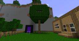Basic Treehouse Minecraft Map & Project