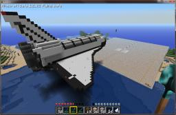 1:1 Scale Minecraft Space Shuttle on Final Approach to Runway 33 Minecraft Map & Project