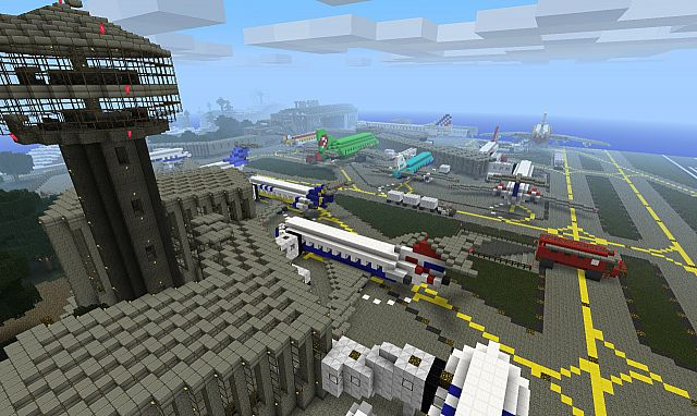 Minecraft Airport Minecraft Project