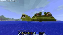Turtle Island Minecraft Map & Project